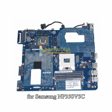 Qcla4 la-8861p ba59-03397a para samsung np350 np350v5c 350v5x hd4000 + hd 7600 m madre del ordenador portátil mainboard