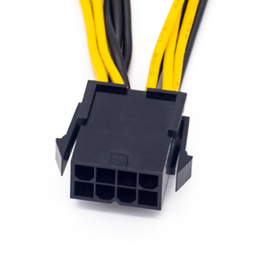 Image 4 - EPS CPU 12V 8 Pin to Dual 8 (6+2) Pin PCIE Adapter Power Supply Cable 20cm