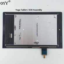 "LCD Display Panel Screen Touch Screen Digitizer Kaca Majelis Untuk 8 ""Lenovo Yoga Tablet 2 830 830F 830L(China)"