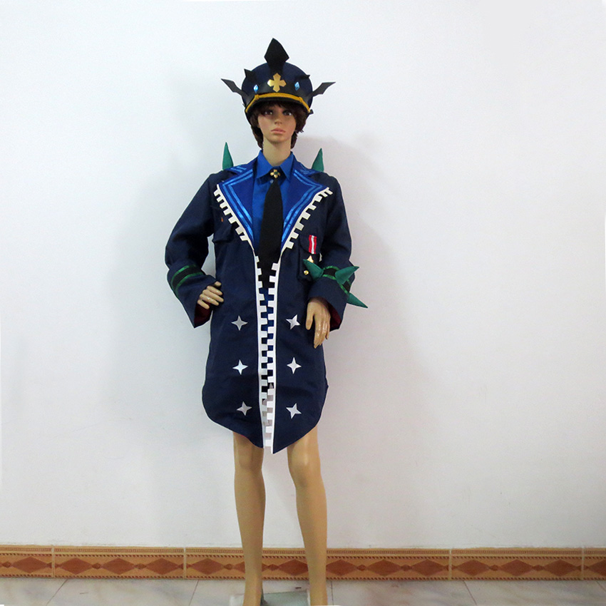 Elsword Lu Ciel Catastrophe Christmas Party Halloween Uniform Outfit Cosplay Costume Customize Any Size