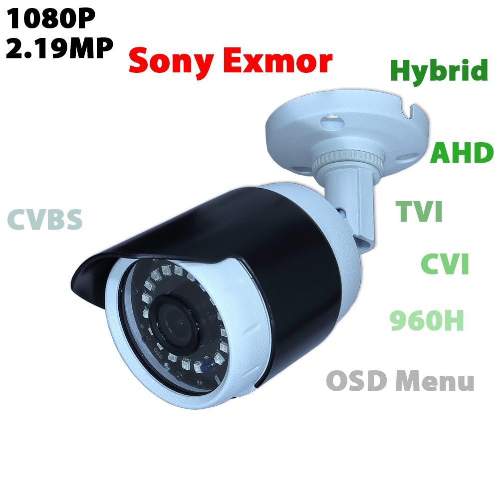 bilder für Sicherheit CCTV Video cam Für hikvision/dahua DVR TVI/AHD/CVI/Output CVBS 1080 P Sony IMX323 CMOS sensor überwachung kugel analog