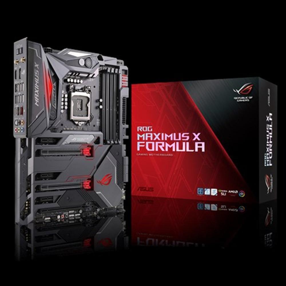 New Original ASUS ROG MAXIMUS FORMULA Z370 Motherboard Support LGA1151 DDR4 4133MHz 802.11ac Wi-Fi Dual M.2 Computer Mainboard цена