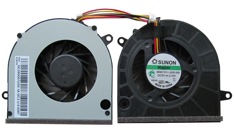 SSEA New CPU Cooling Fan for <font><b>Lenovo</b></font> G460 G465 G560 Z460 Z465 G565 <font><b>Z560</b></font> Z565 Laptop fan P/N MG65130V1-Q000-S99 image
