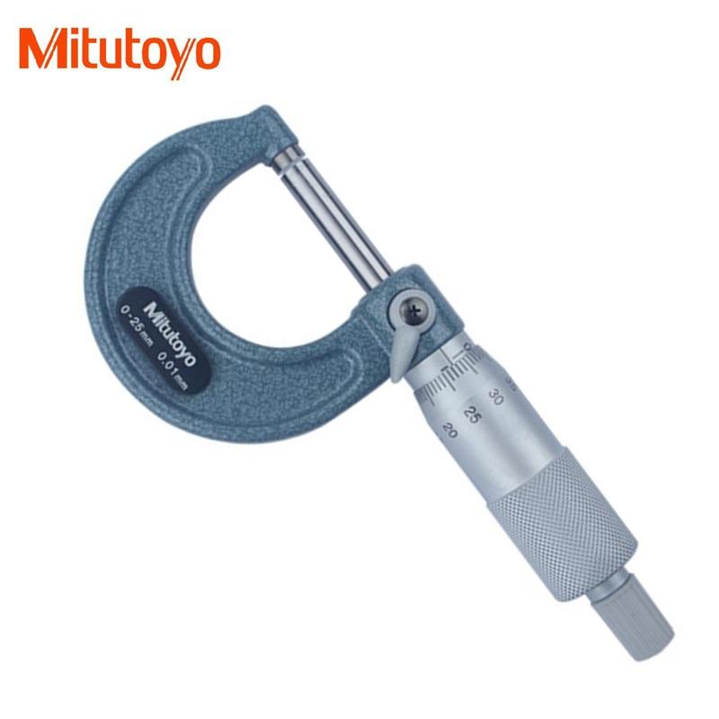 Mitutoyo tool prices - 100% Real Japan Mitutoyo 103-137 Outside Micrometer 0-25mm /0.01mm Caliper Gauge Measuring Tool