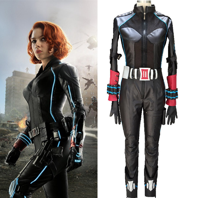 avengers 2 age of ultron adult black widow costume cosplay natasha romanoff catsuit party halloween costumes for women custom on aliexpresscom alibaba