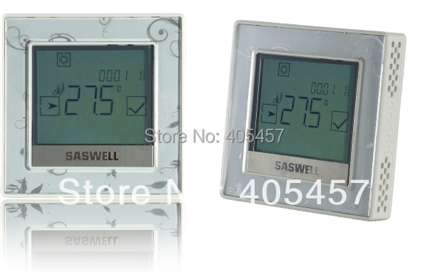 Digital Room Thermostat for wired water heating system T12 WHL-7(EN)-485,water heating thermostat with 485 communication гладильная доска великие реки ровная 1 page 2