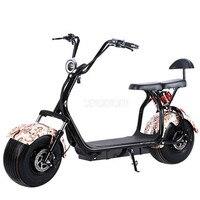 Большой 2 колеса новый Harley электромобиль педаль для взрослого велосипед с электроприводом Мотоцикл Скутер с сиденья пробег 40 км 1000 Вт A/B Тип