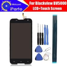 100% оригинал Blackview BV5000 ЖК-дисплей Дисплей + Сенсорный экран 1280×720 5.0 дюймов в сборе для Blackview BV5000 + Инструменты