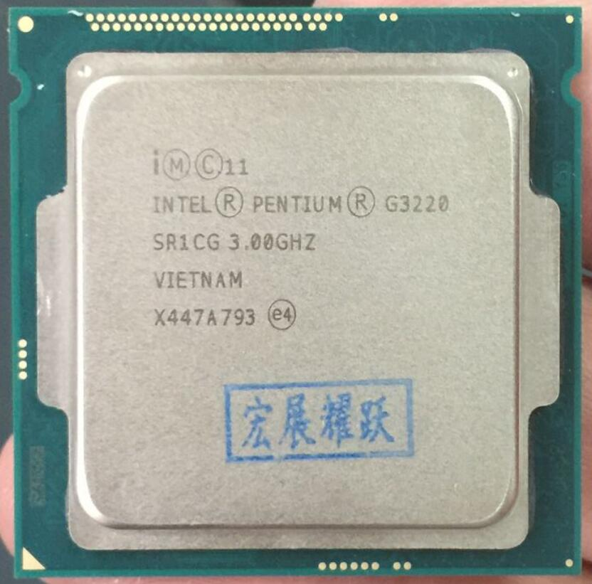 Intel Pentium Processor G3220 LGA1150 22 nanometers Dual Core 100 working properly Desktop Processor