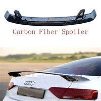HLONGQT Carbon Fiber Spoile For Audi TT A3 S3 RS3 A4 S4 RS4 A5 S5 RS5