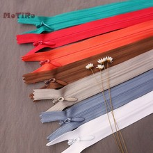 MoTiRo,60cm,Colorful Nylon Invisible Zipper,Zipper For Manual DIY/Sewing Pants/Clothing/Pillow/Bags/Shoes/Garment Accessories(China)