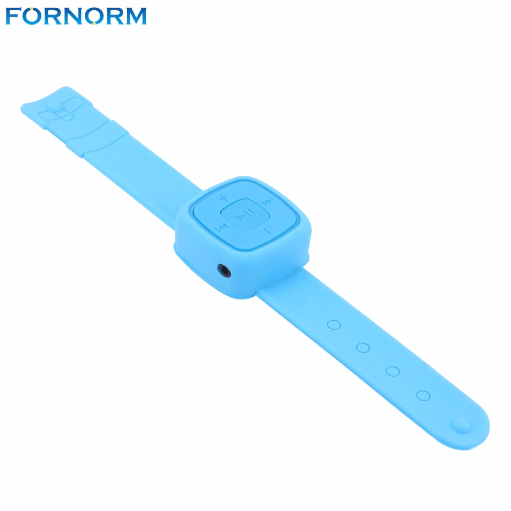 FORNORM Fashion Portable Wrist watch style MP3 Player Sports Mini Music Media Player wor ...