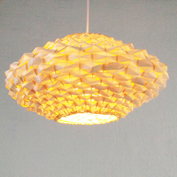 Chinese creative living room bedroom villa bakery cafes bamboo Chandelier m lo1026