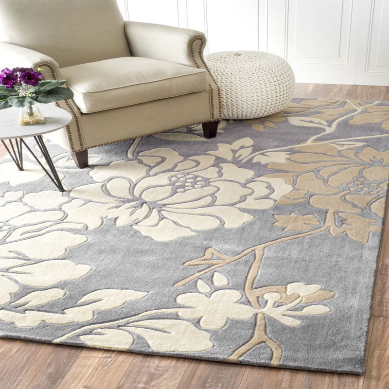 100% Acrylic Carpets For Living Room Thicken Soft Area Rugs For Bedroom Pastoral Style Rugs And Carpets Table Floor Mat