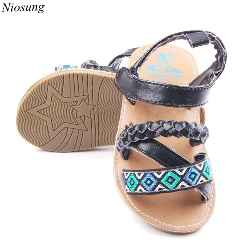 73ee9ca1e8797b Cute Infant Newborn Baby First Walker Toddler Anti slip Shoes Sandals  Children Footwear Baby Toddler Girl Summer Shoes v-in Sandals from Mother    Kids on ...