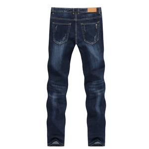 KSTUN Men's Jeans 2019 Summer Denim Pants Slim Straight Dark Blue Regular Fit Leisure Long Trousers Famous Brand Jean Men Hombre