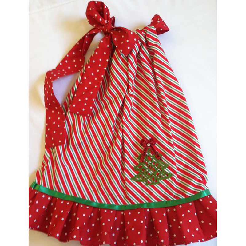 Fancy New Year Baby Girls Christmas Trees Dress For Girls ...