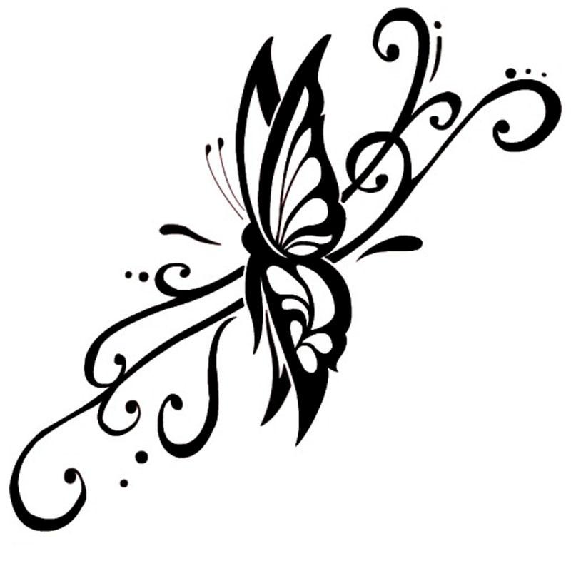 Online Get Cheap Butterfly Vinyl Car Stickers Aliexpresscom - Butterfly vinyl decals