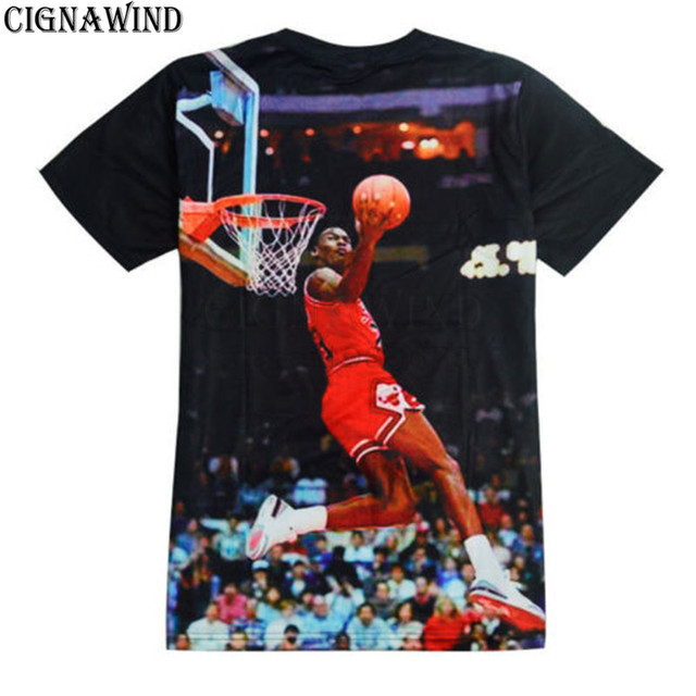 5912aa8ca46162 New arrival cool Jordan dunk t shirt men women 3D printed t-shirts short  sleeve Harajuku style tshirt streetwear summer tops