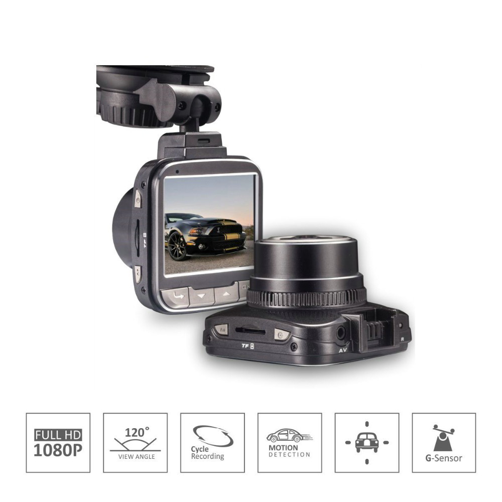 цены G50 Car DVR Camera Novatek 96650 Chip Full HD 1080p 30fps Dash Cam 2.0'Lcd G-sensor WDR Car Video Recorder H15