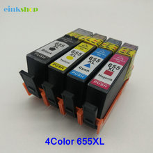 High-quality for HP 655 Compatible Ink Cartridge for HP Deskjet Ink Advantage 3525 4615 4625 5525 6520 6525 Printer With Chip