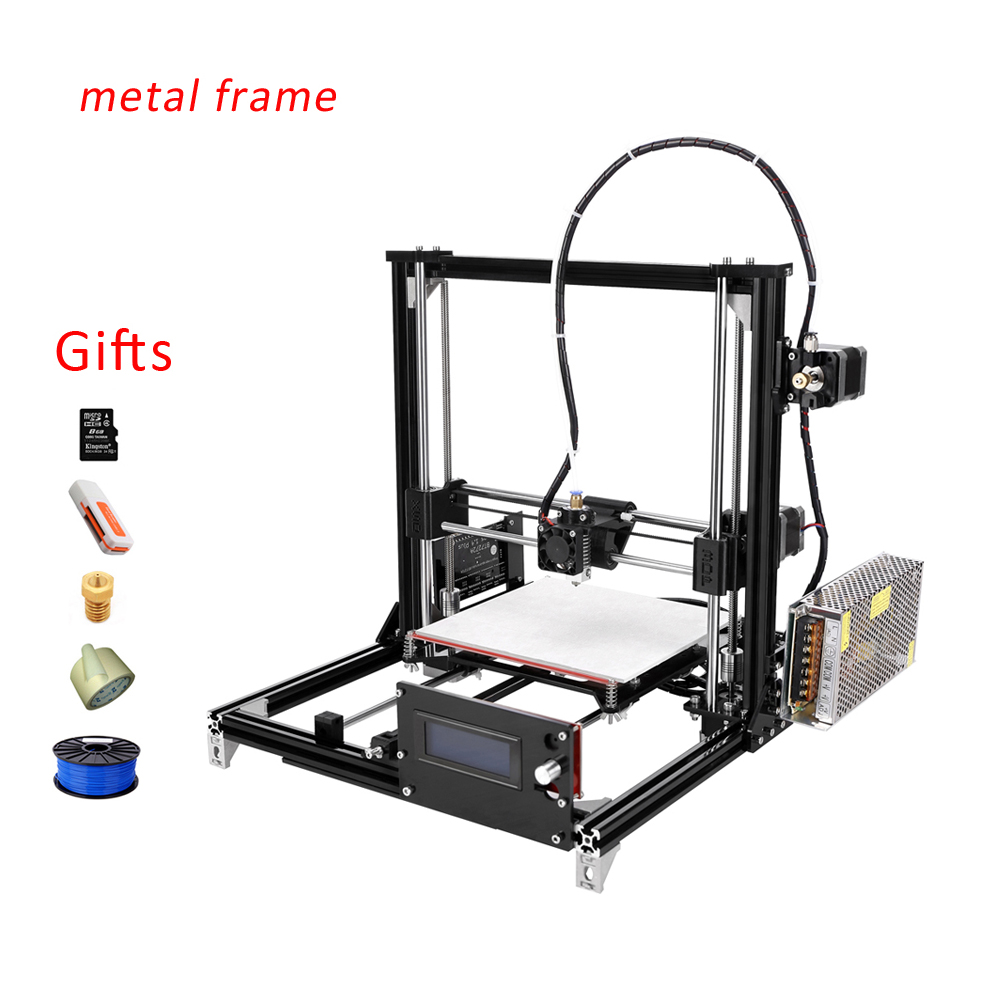 Factory FDM Desktop Type China ABS PLA 3d printer With One Roll Filament SD Card