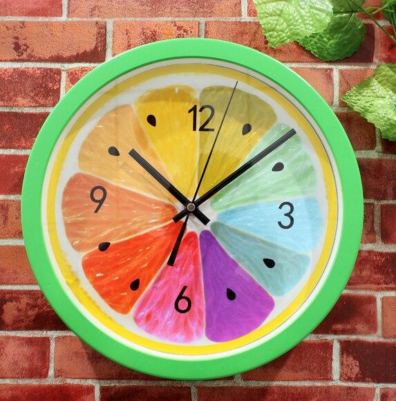 Buy 2016 New European Home Decorations Fresh Fruit Wall Clocks Creative Lemon