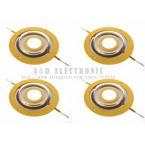 Image 1 - 4PCS high quality 2404 2405 type replacement diaphragm JBL 075, 076, 077,2402horn 16Ohm or 8 ohm