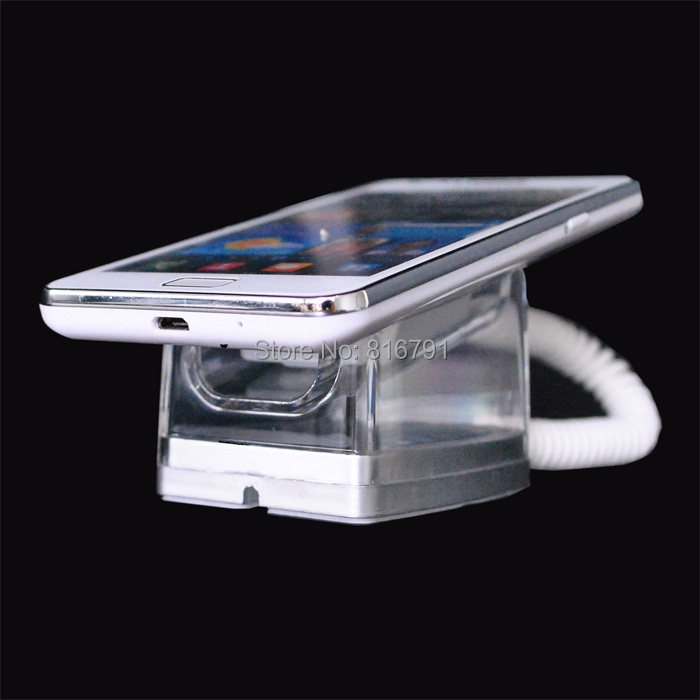 20pcs Free Express Shipping Mobile Cell Phone Security Display Stand Cellphone Store Anti-theft Exhibition Holder For Shop