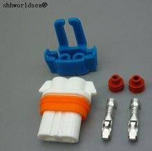 shhworldsea Ceramic 9005 HB3 LED socket bulb plug harness holders Ceramics connector sockets
