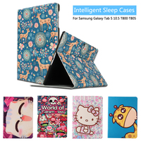 For Samsung Galaxy Tab S 10 5 T800 Tablet Litchi PU Leather Case Cover Stand For