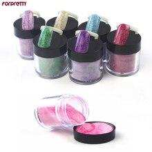 Glitter Nail Art FORPRETTY Acrylic Powder Unha Nails Polvo Acrilico Colored Nagel Poeder Akril Pudra Poudre Acrylique Pour Ongle все цены