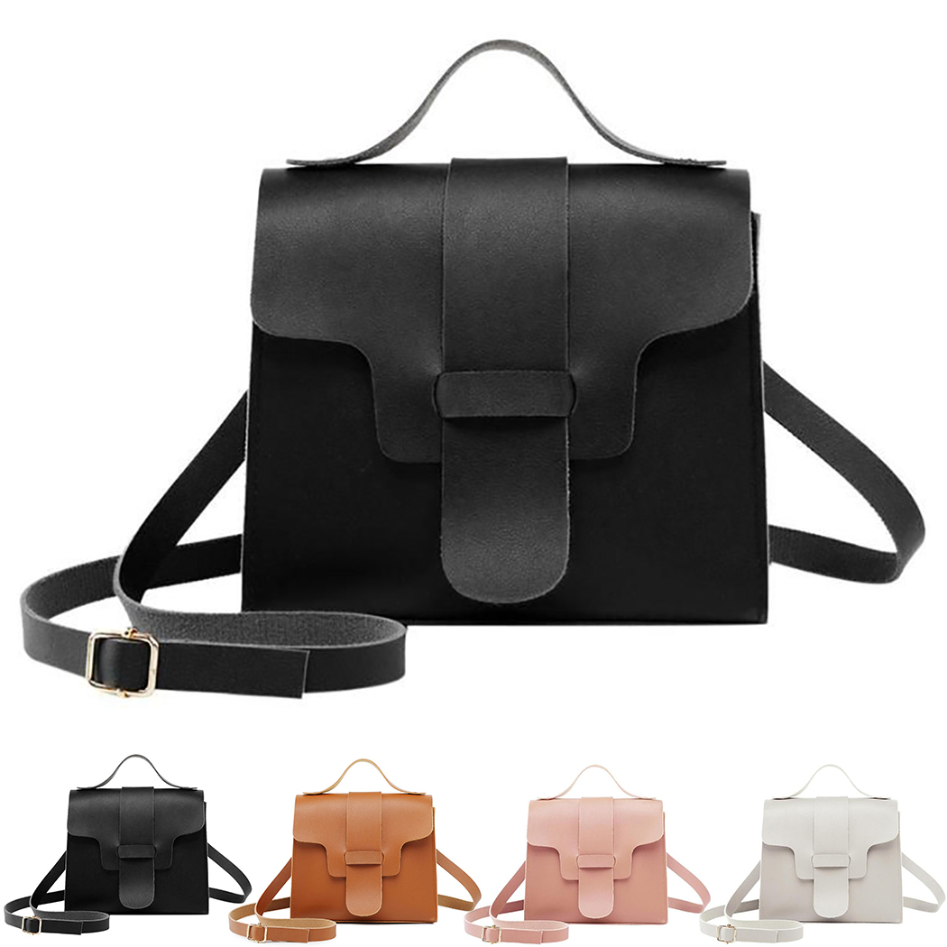 Small Handbag Crossbody Bags For Women Girls 2019 Summer Pink Black Leather Flap Ladies Hand Messenger Bag Mini Purses Bolsa