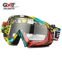 Motocross Occhiali di protezione di ATV MTB DH Antivento Sci Moto Bike Occhiali di Vetro Dirt bike Casco Visiere Lens Moto Occhiali blinkers