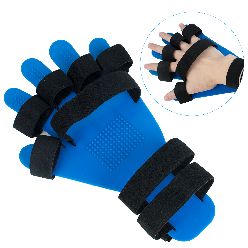 2018 New Hand Wrist Orthosis Separate Finger Flex Spasm Extension Board Splint Apoplexy Hemiplegia Right Left Men Women hand wrist orthosis separate finger flex spasm extension board splint apoplexy hemiplegia right left men women