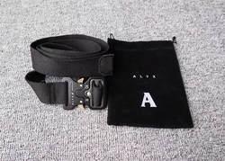 2019 ремень alyx для женщин мужчин унисекс горки металлические кнопки хип хоп Уличная alyx $ AP Rocky холст ремни 128 см