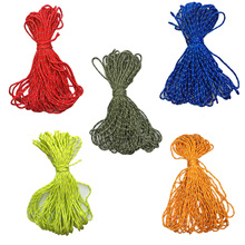 20m 2mm Reflective Paracord Tent Cord Rope Camping Awning Rope Runner Guy Line
