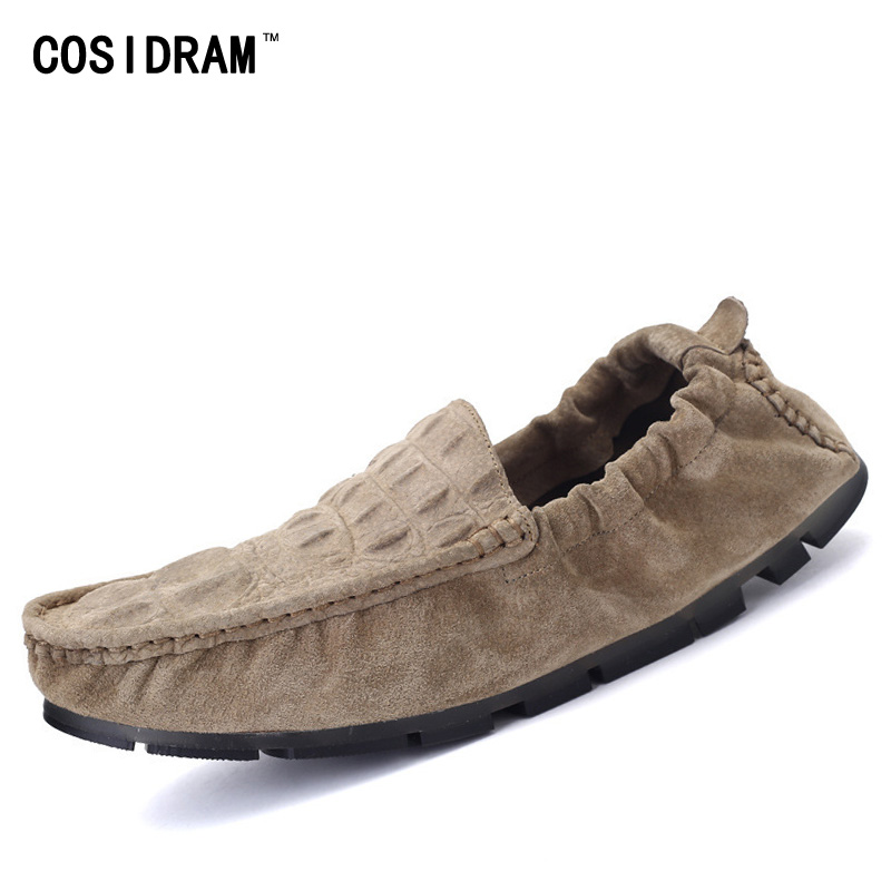 Soft Bottom Genuine Leather Men Loafers Casual Moccasins Driving Shoes 2017 Summer Men Flats Gommino Slip On Flat Shoes RMC-1025 handmade genuine leather men s flats casual luxury brand men loafers comfortable soft driving shoes slip on leather moccasins