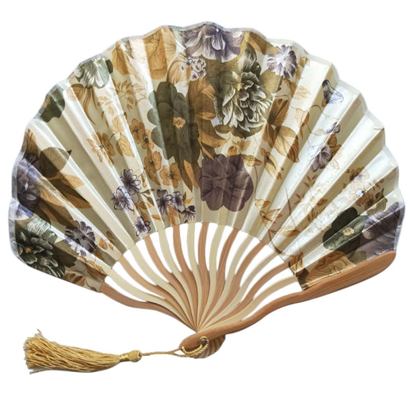Chinese Style Bamboo Decoration Fan 4
