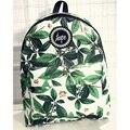 Женщины рюкзаки печати листья рюкзак mochila рюкзак моды холщовый мешок ретро случайный мешок школы дорожная сумка XD2528