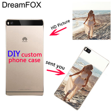 DREAMFOX Customized DIY Soft TPU Silicone Case Cover For Huawei P8 P9 P10 Lite Plus 2017 Honor 8 Lite Pro 9 6X
