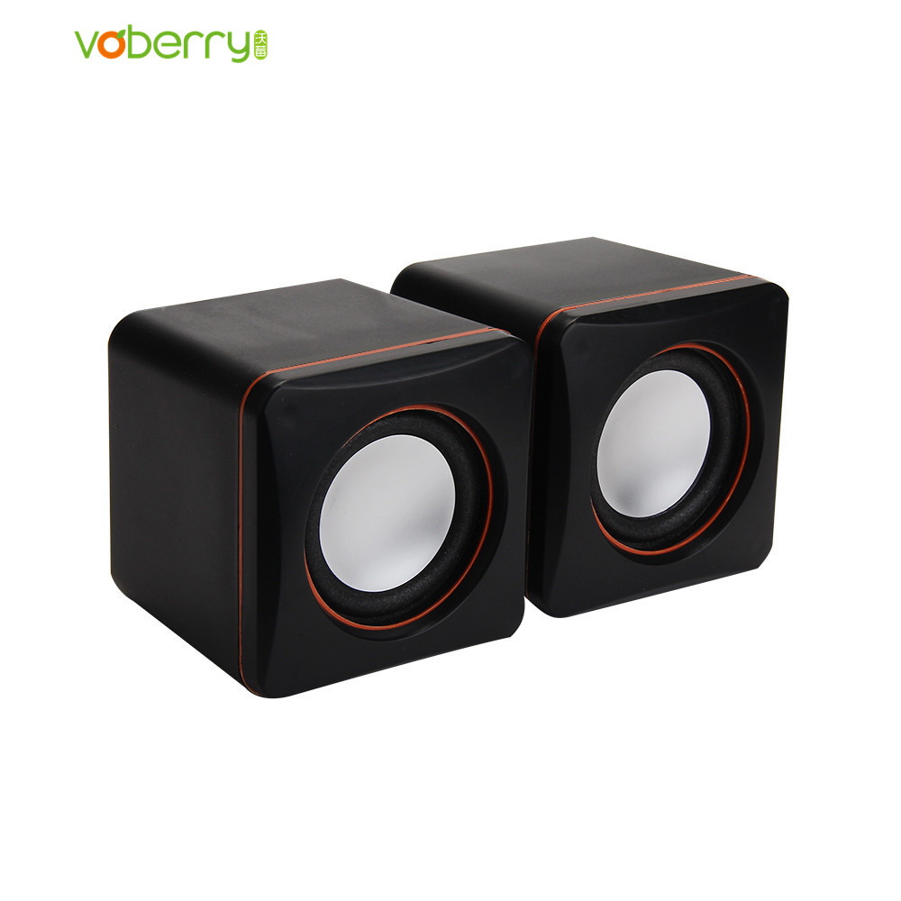 VOBERRY Mini Portable USB Multimedia Computer Laptop Audio Sounder Speaker Multimedia Desktop PC Speakers