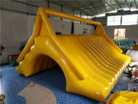 Sell water park game equipment, water world toys, water triangle slide, water inflatable slide