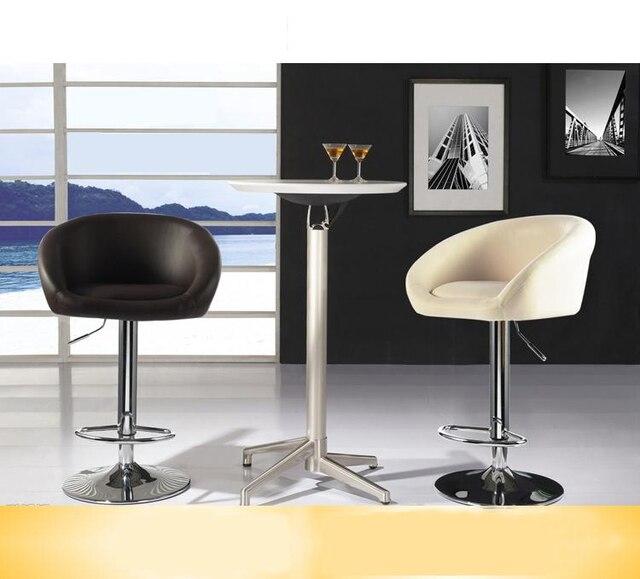 Tabouret de bar blanc noir rouge couleur chaise salle à manger café ...