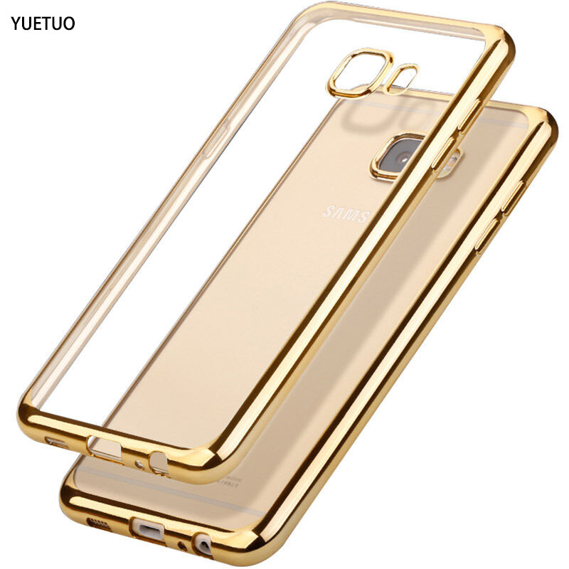 f80c62a48 YueTuo case for samsung galaxy prime j5 j 5 j 7 j7 prime 2016 coque ouro  rosa silicon silicone suave tpu claro telefone fina cobrir em Casos  enquadrados de ...