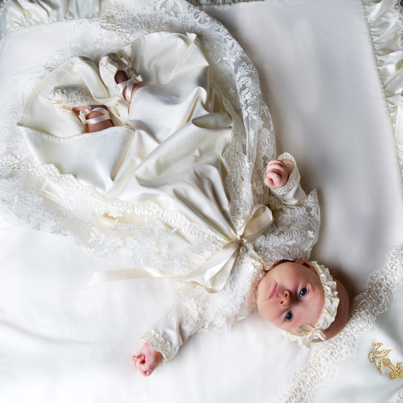 pare Prices on Vintage Christening Gown line