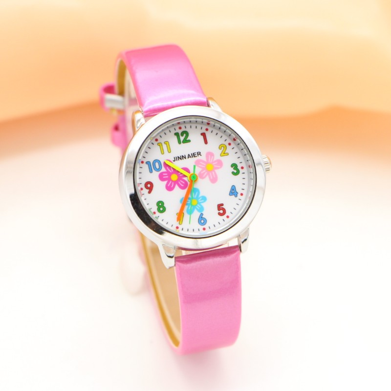 New Fashion Sun Flower Watches Children Kids Boys Gift Watch Casual Quartz Wristwatch Relogio Relojes Montres Kol Saati
