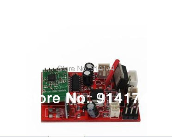 цены Wltoys v913 rc helicopter spare parts wl toys V913-16 2.4G receiver board/pcb box/main board
