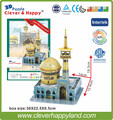 New 2014  3d puzzle Imam Raza Holy Shrine (Iran)  adult puzzle handmade model play for children learning & education