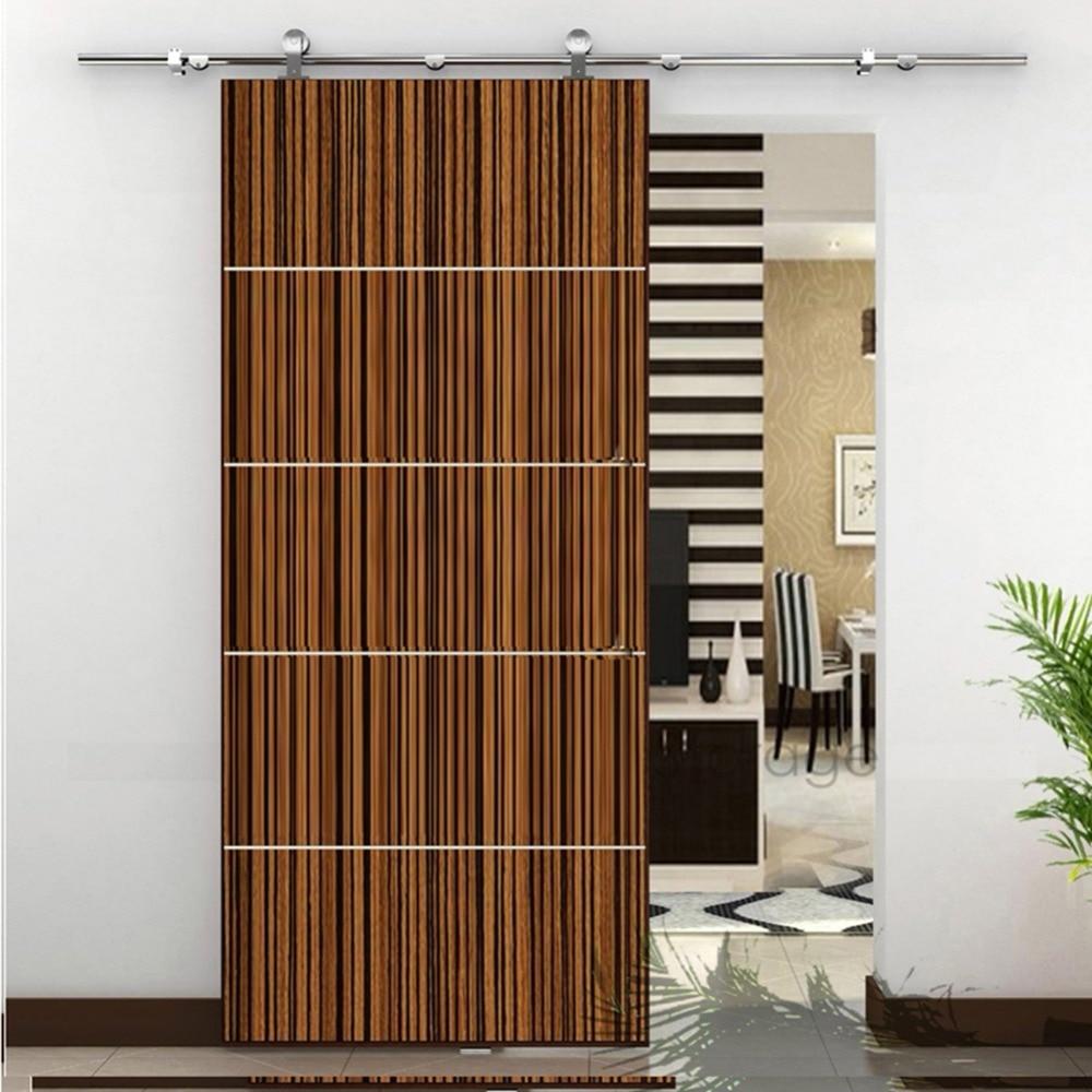 Stainless steel barn wood sliding doors hardware